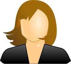 anonieme vrouw